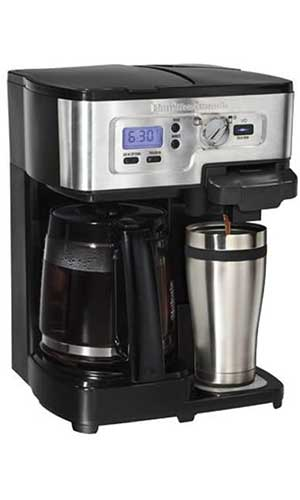 Hamilton-Beach-49983-2-Way-FlexBrew-Coffeemaker-best-coffee-maker-under-100
