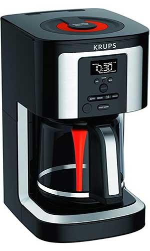 KRUPS-EC322-14-Cup-Programmable-Coffee-Maker-best-coffee-maker-under-100