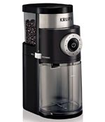 KRUPS 8000035978 GX5000 Professional Electric Coffee Burr Grinder with Grind Size