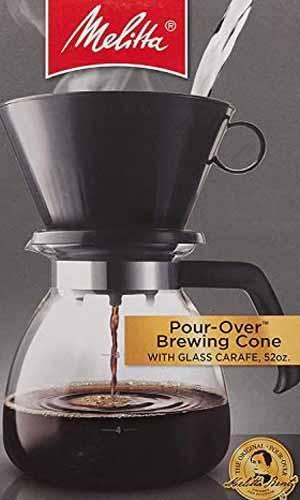 Melitta 640616 Coffee Maker,  Glass Carafe